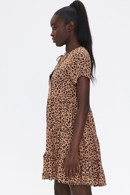 Sleeveless Cheetah Print Romper, image 2