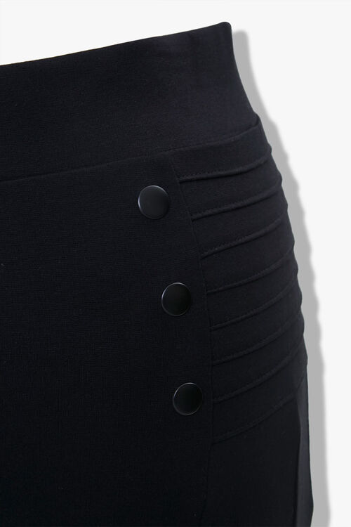Plus Size Ribbed Leggings, image 4