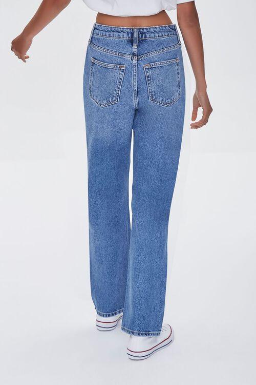 MEDIUM DENIM Premium Distressed 90s-Fit Jeans, image 4