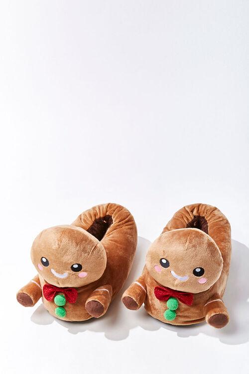 Gingerbread Man Indoor Slippers, image 1