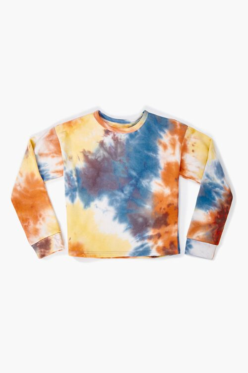 Girls Tie-Dye Sweatshirt (Kids), image 1