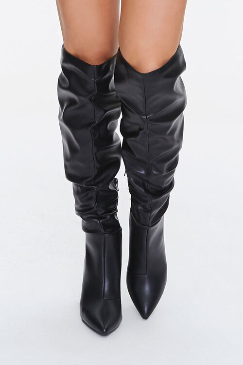 Slouchy Knee-High Boots, image 4