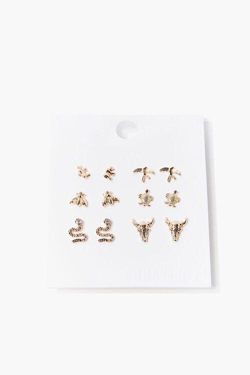 Animal Stud Earring Set, image 1