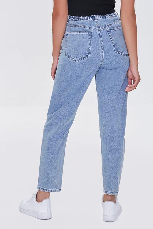LIGHT DENIM High-Rise Mom Jeans, image 4