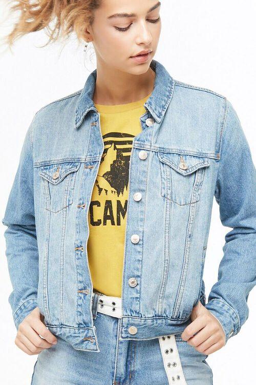 Faded Denim Jacket, image 1