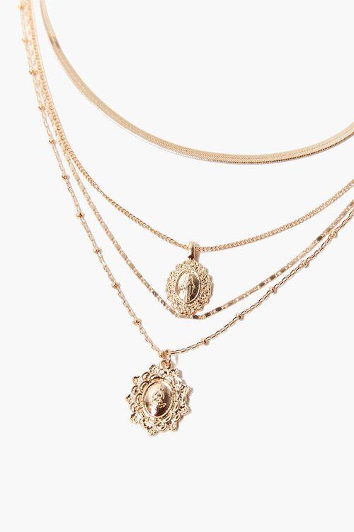 Iconograph Pendants Layered Necklace, image 1