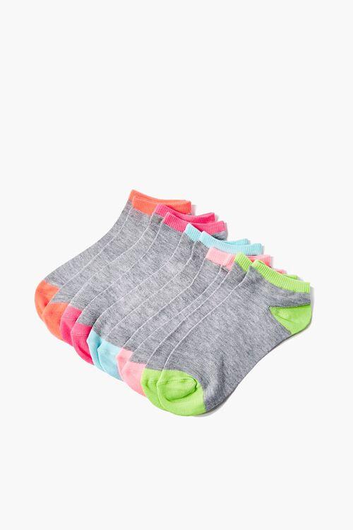 Colorblock Ankle Socks - 5 Pack, image 1
