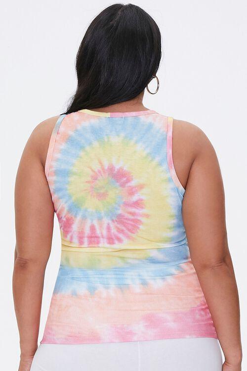 Plus Size Tie-Dye Tank Top, image 3