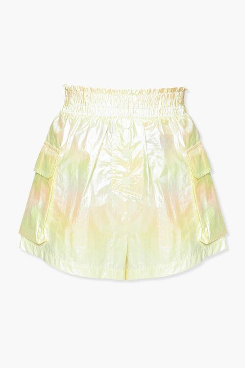 Iridescent Paperbag Shorts, image 1