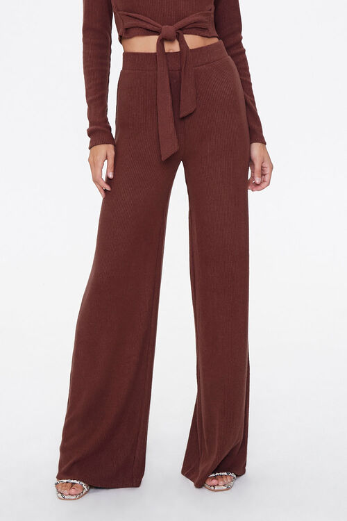 Crop Top & Flare Pants Set, image 4