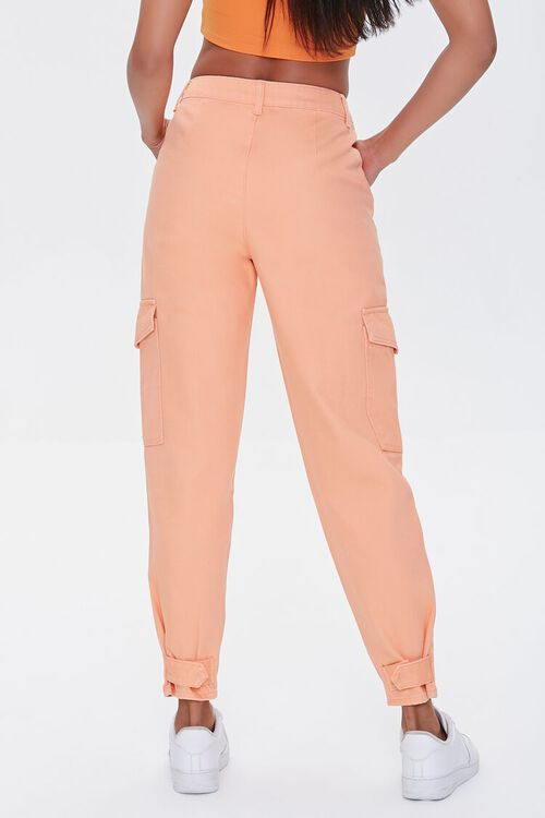 High-Rise Cargo Jeans, image 4