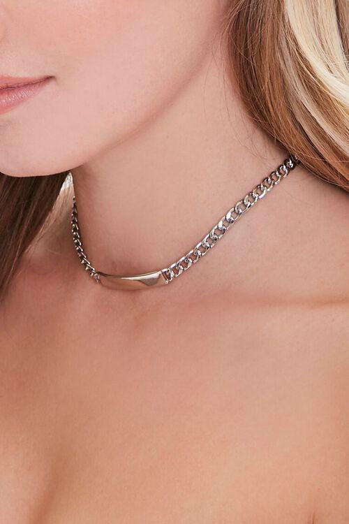 Bar Pendant Choker Necklace, image 1