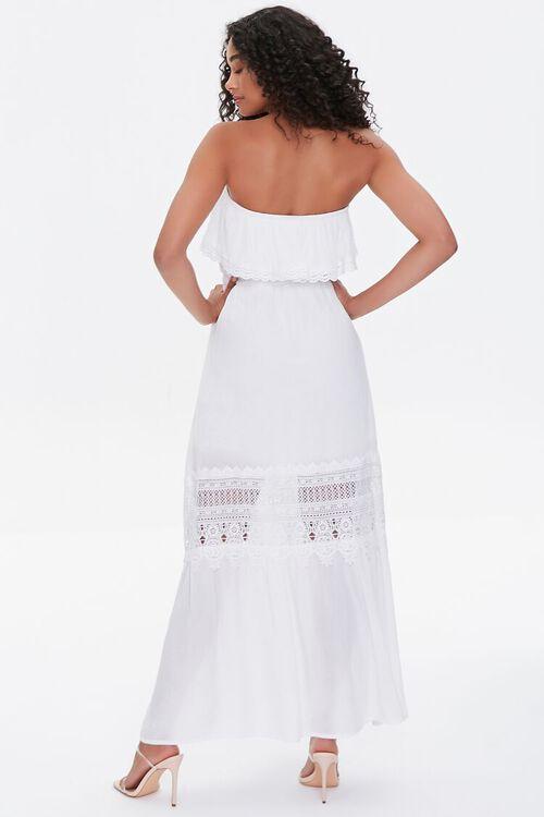 Lace-Trim Maxi Dress, image 3