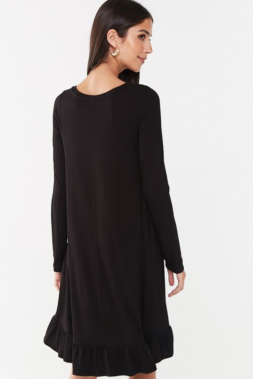 Ruffle-Hem High-Low Mini Dress, image 3