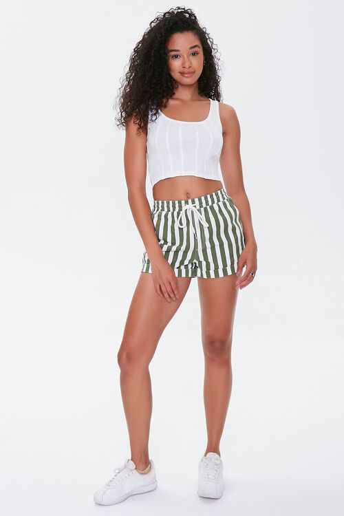 Seamed Cropped Tank Top, image 4