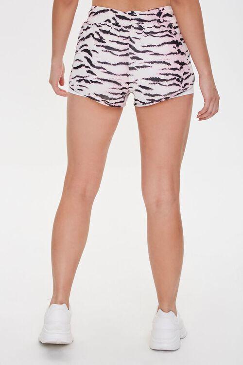 PINK/MULTI Active Tiger Print Mesh Shorts, image 4