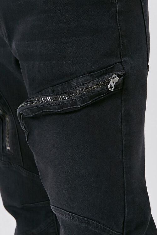 Zip-Pocket Skinny Jeans, image 5