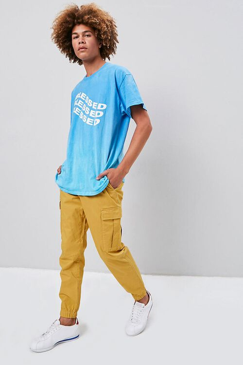 Belted Cargo Joggers, image 1