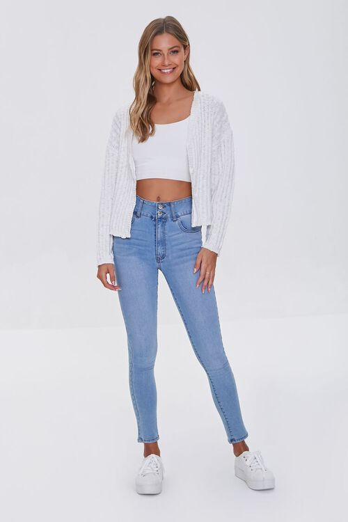 V-Neck Buttoned Cardigan Sweater, image 4
