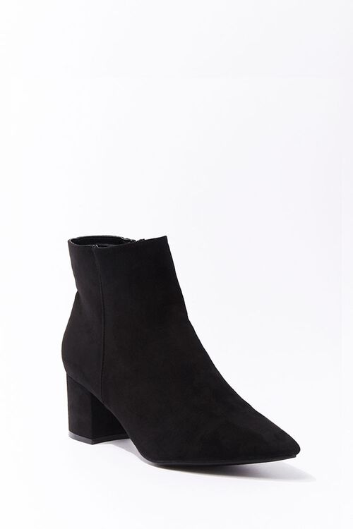 Faux Suede Booties, image 1