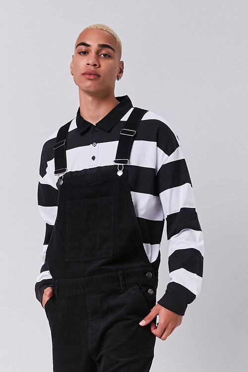 Corduroy Buttoned Overalls, image 4