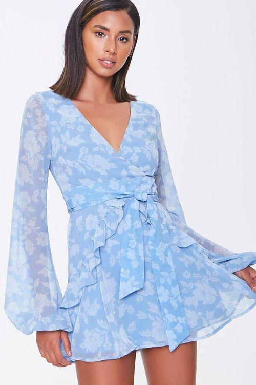 Floral Print Mini Dress, image 5