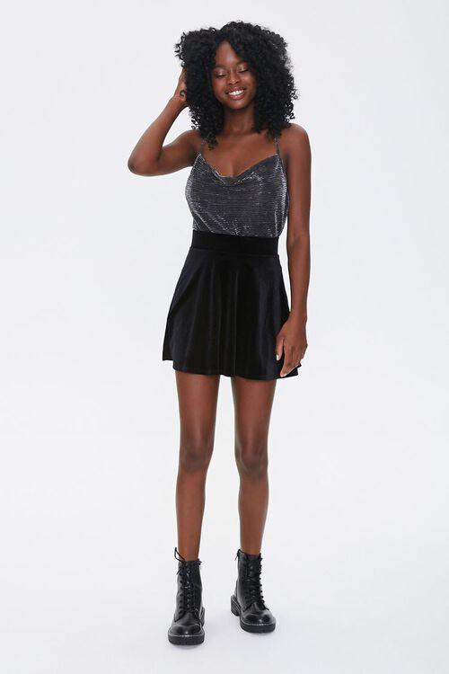 Metallic Cami Bodysuit, image 4