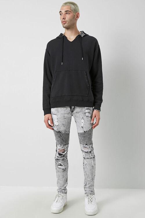 Distressed Moto Jeans, image 5