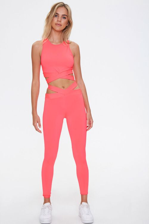 Active Crisscross Cutout Leggings, image 5