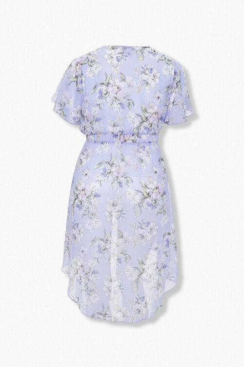 Plus Size High-Low Floral Tunic, image 2