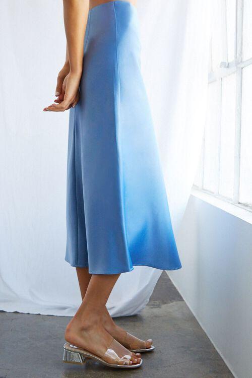 Satin Midi Skirt, image 2