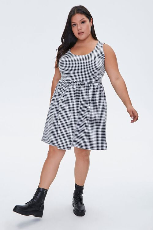 Plus Size Gingham Dress, image 4