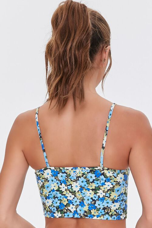 Floral Print Cropped Cami, image 3