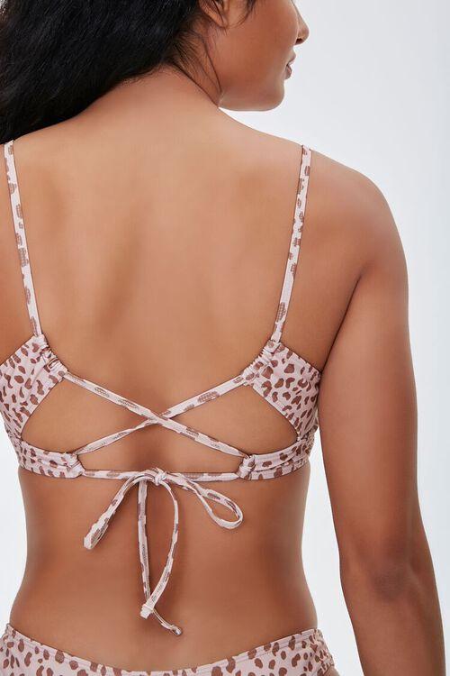 Cheetah Underwire Bikini Top, image 3