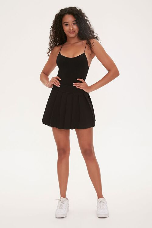 Pleated Mini Skirt, image 4