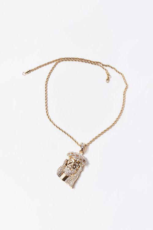 Men Jesus Pendant Necklace, image 2