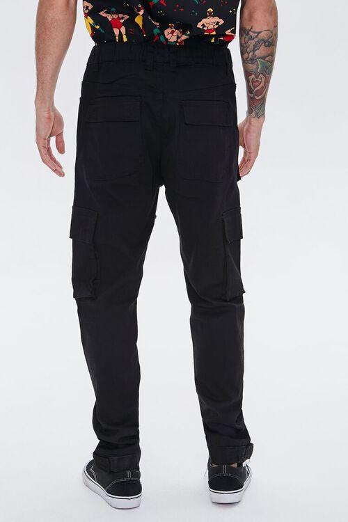 Cuffed Drawstring Cargo Pants, image 4