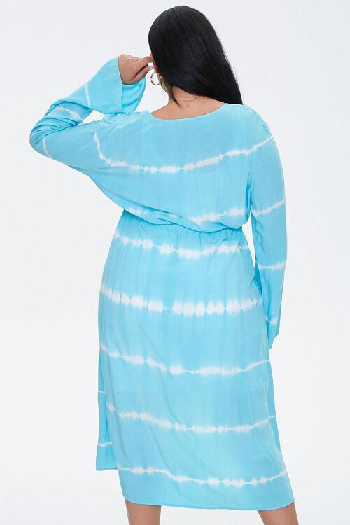 Plus Size Tie-Dye Kimono, image 3