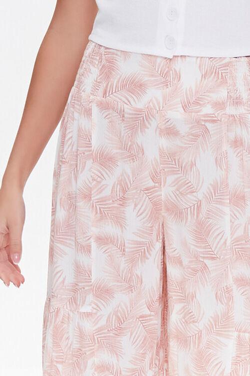 Leaf Print Wide-Leg Pants, image 4