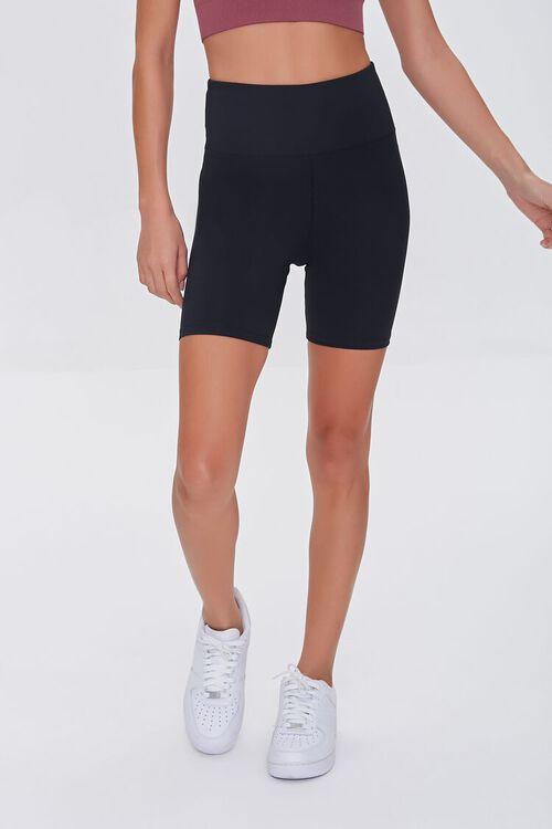 BLACK Active Biker Shorts, image 2