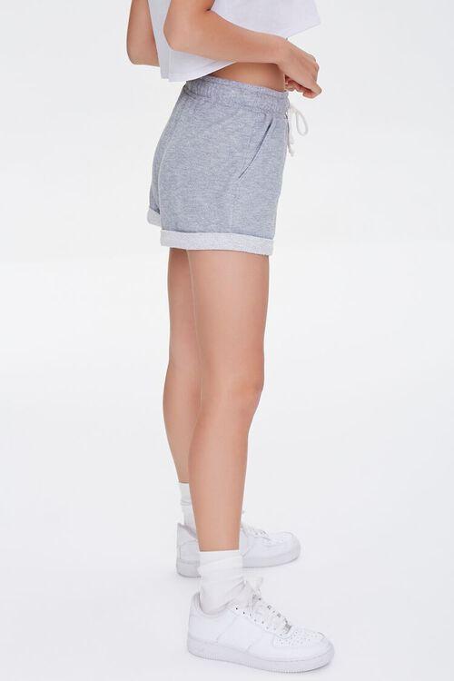 Heathered Drawstring Shorts, image 3