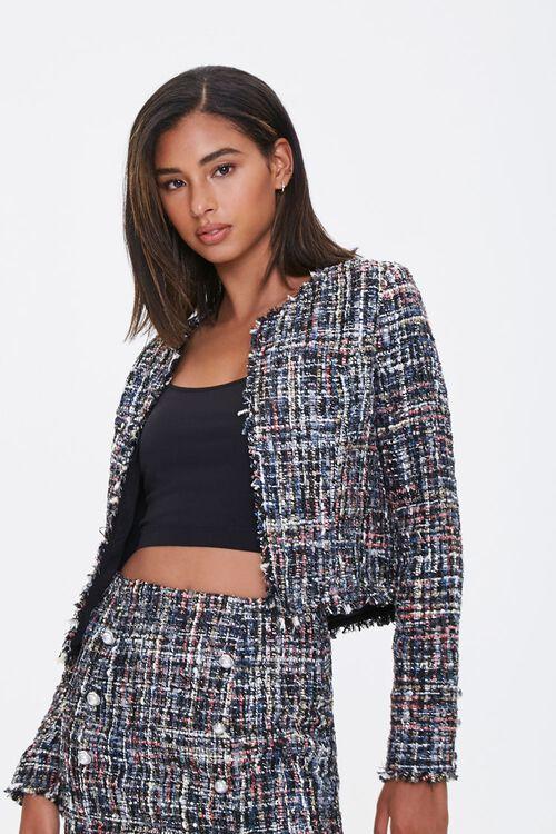 Frayed Tweed Jacket, image 1