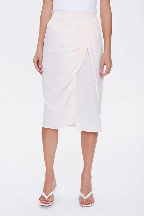 Gathered Crepe Skirt, image 2