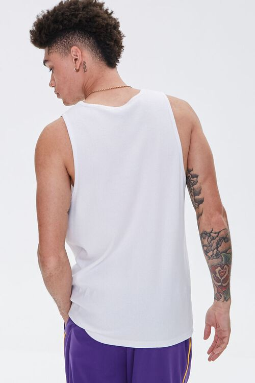 LA Lakers Embroidered Graphic Tank Top, image 4