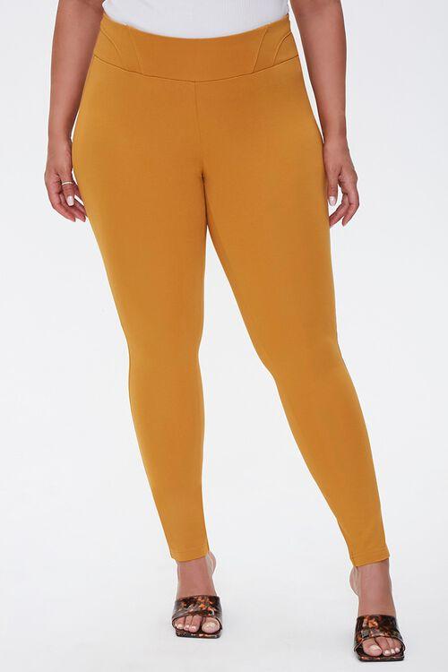 Plus Size High-Rise Leggings, image 2