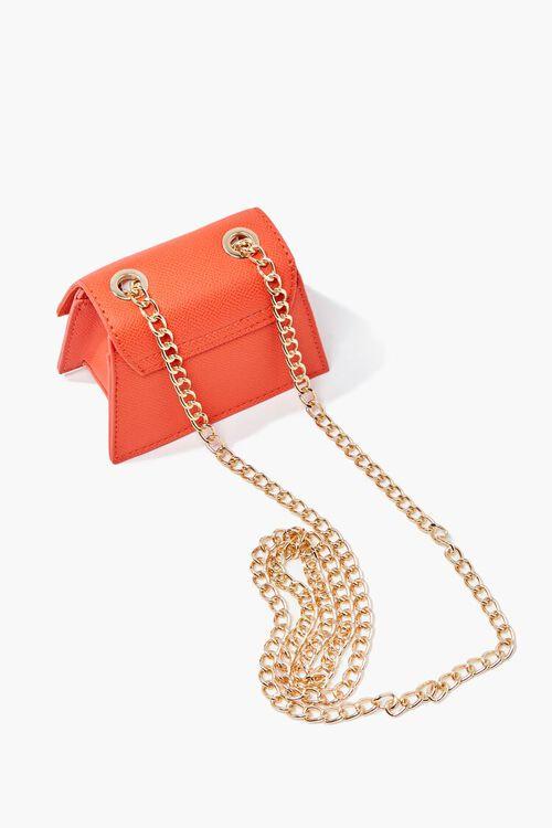 Mini Faux Leather Crossbody Bag, image 5
