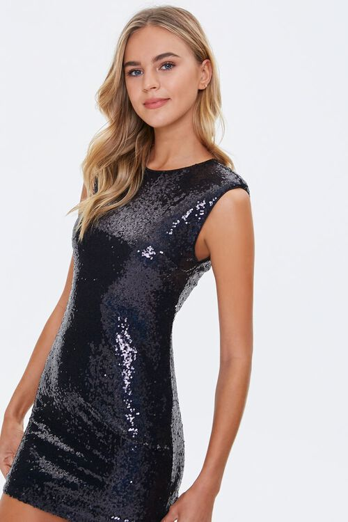 Sequin Bodycon Mini Dress, image 1