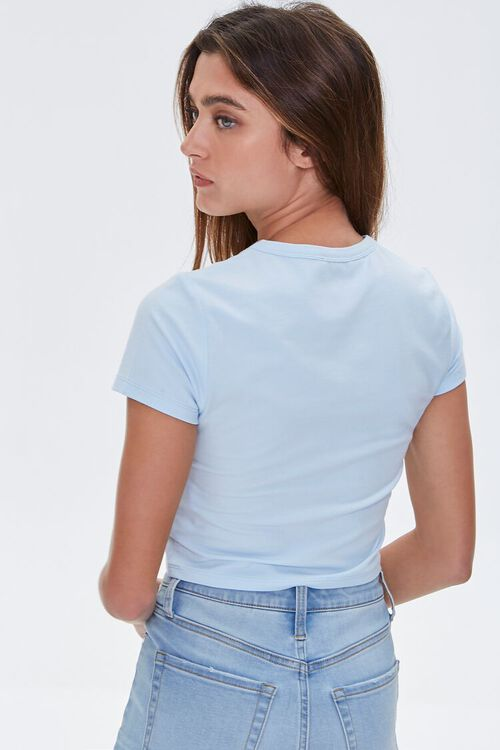 Butterfly Graphic Cropped Tee, image 3