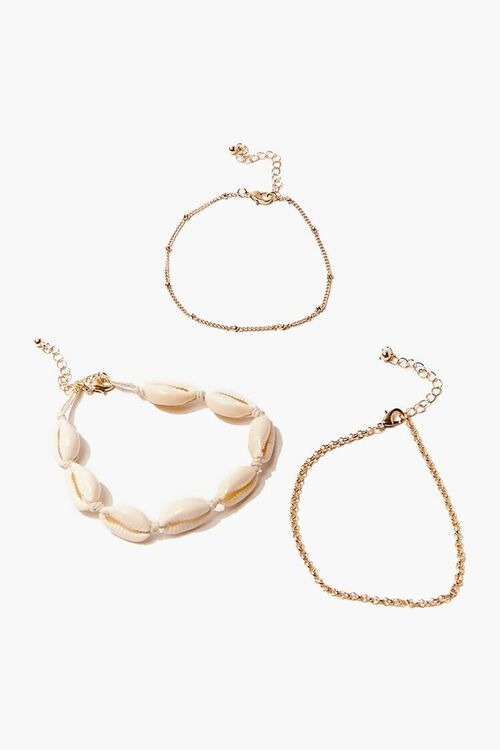 Cowrie Shell Anklet Set, image 3