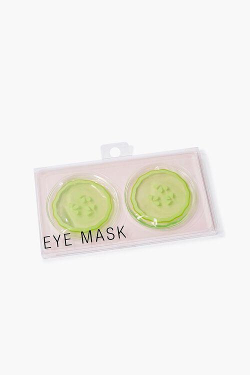 GREEN Cucumber Eye Mask, image 2
